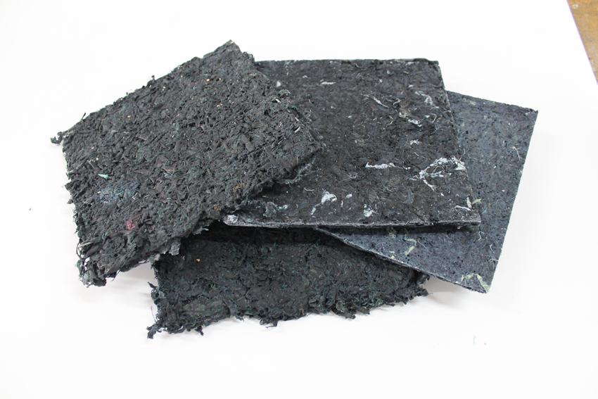 Materialoteca de residuos industriales del NoBA