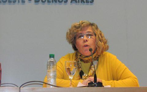 María de las Mercedes Filpe. Directora del Instituto de Diseño e Investigación UNNOBA